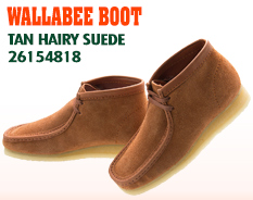 クラークス ワラビー ブーツ 26154818